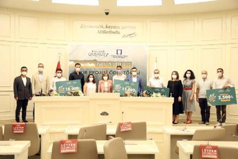 Gaziantep Hayvanat Bahçesine ek kapı tasarlayan mimarlar ödüllendirildi