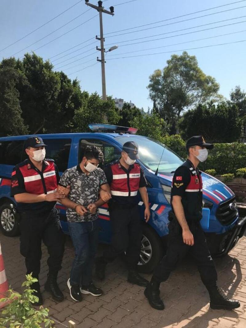 ASAT deposundan boru hırsızlığına tutuklama