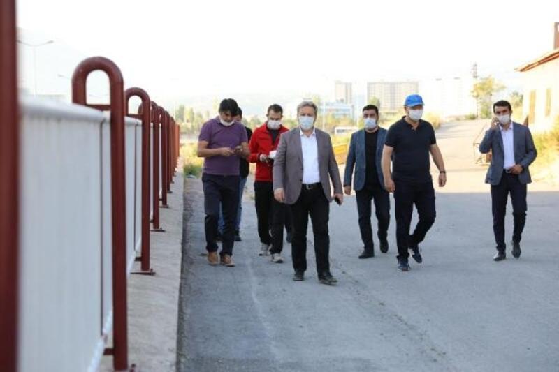 Başkan Palancıoğlu, saha çalışmalarını inceledi