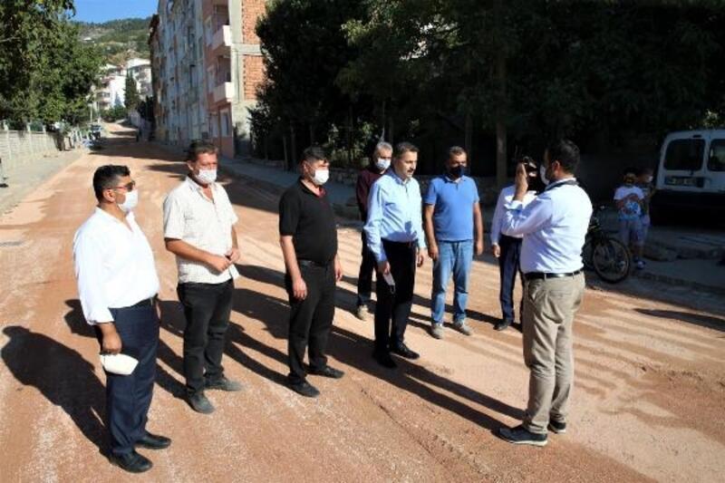 Tokat'ta asfalt çalışmaları sürüyor