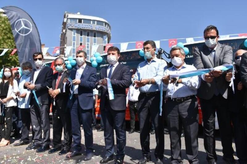 Belediye tarafından alınan 6 otobüs hizmeti girdi