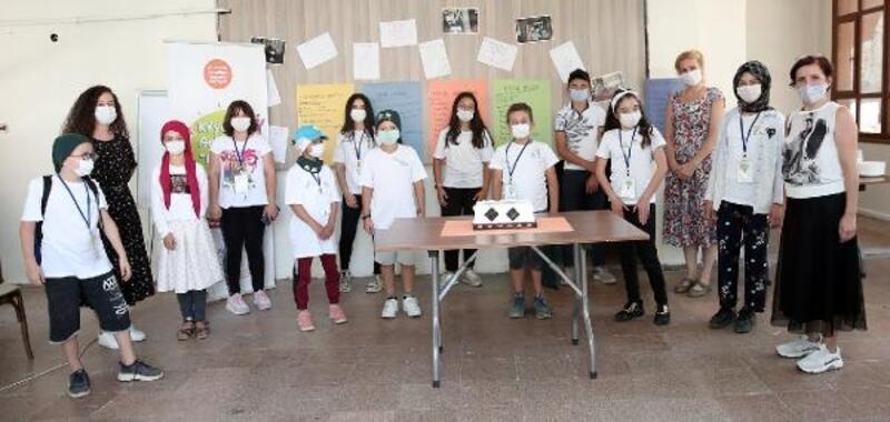 Çocuklar yaşadıkları köy için proje hazırladı