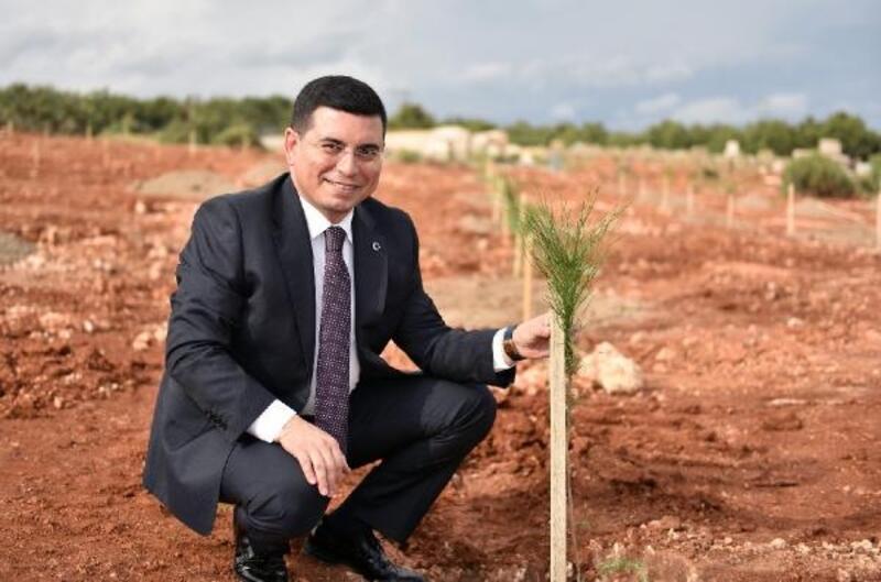 Kepez'de 'Antalya Orman Çiftliği' yapımı başladı