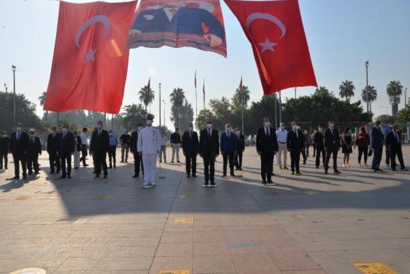 Mersin'de 30 Ağustos Zafer Bayramı kutlandı