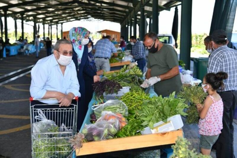 Doğal ürünler pazarına yoğun ilgi