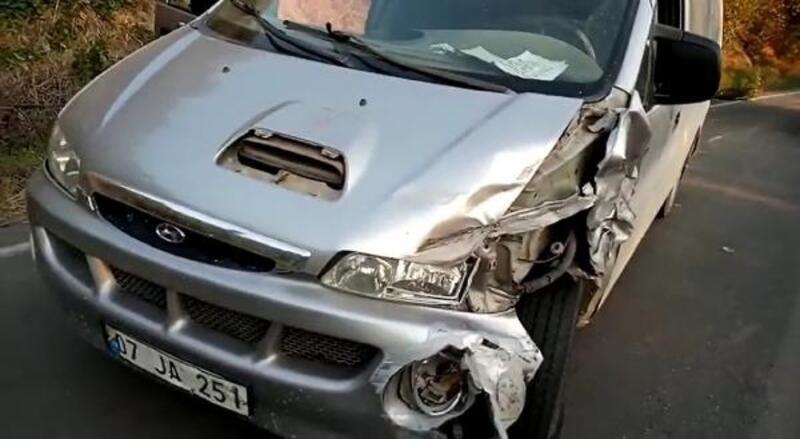 Alanya'da kaza: 3 yaralı