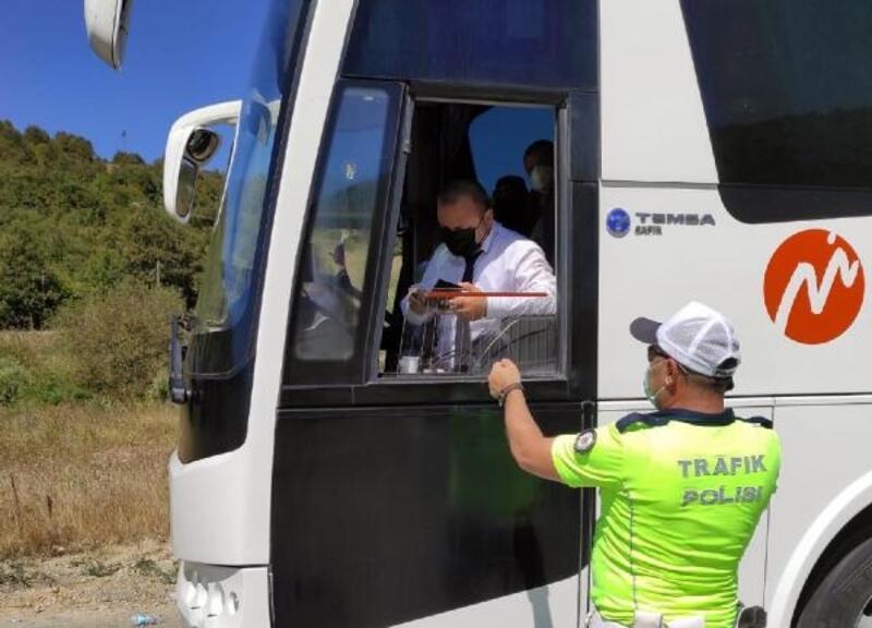 Samsun'da toplu taşıma araçlarına sıkı virüs denetimi