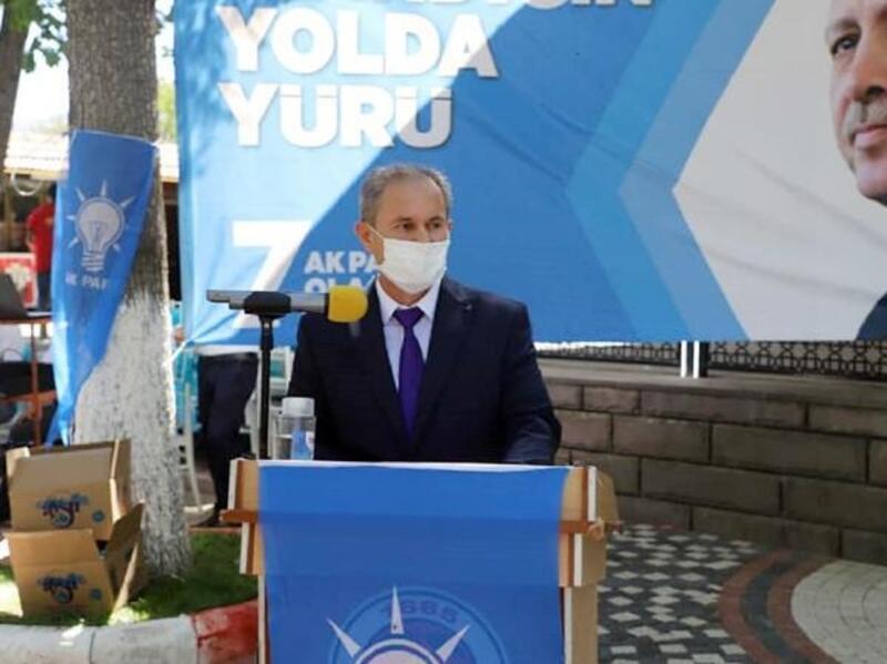 Avukat Çetin, AK Parti ilçe başkanı