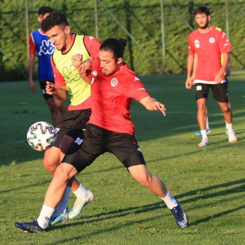 Antalyaspor'da lig öncesi son prova