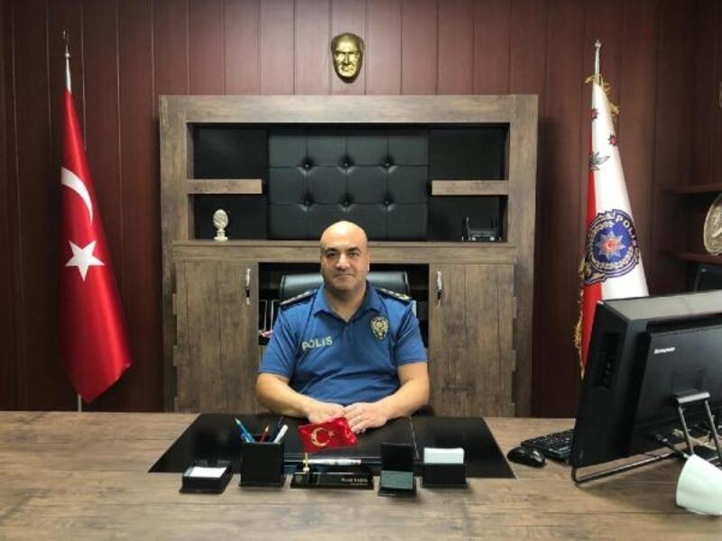 Erdemli Emniyet Müdürü Barış Murat Başol göreve başladı