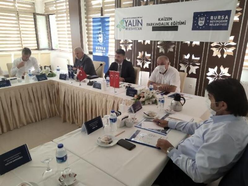 Bursa'da 'Yalın Belediyecilik' eğitimleri sürüyor