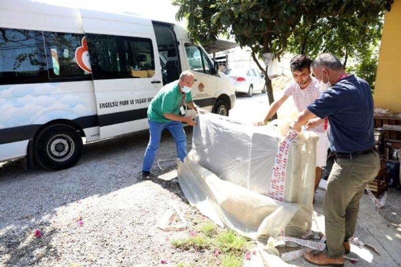 Alanya Belediyesi'nden ihtiyaç sahiplerine yardım