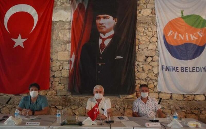 Finike Belediyesi eylül ayı meclis toplantısı
