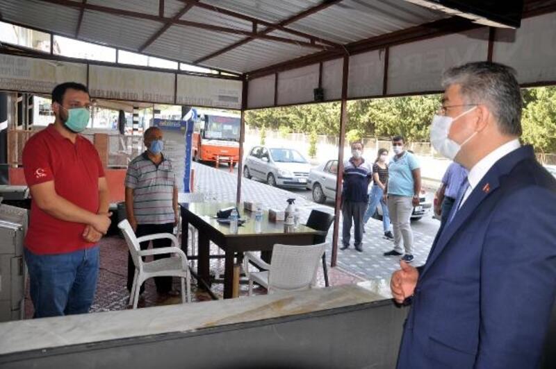 Osmaniye'de, koronavirüs tedbirleri denetimleri