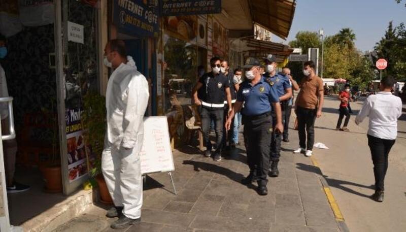 İslahiye'de 60 polis ile maske denetimi