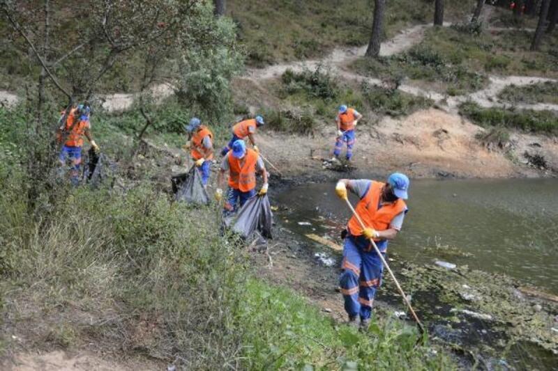 Aydos Ormanı'nda yangına karşı önlemler artırılıyor