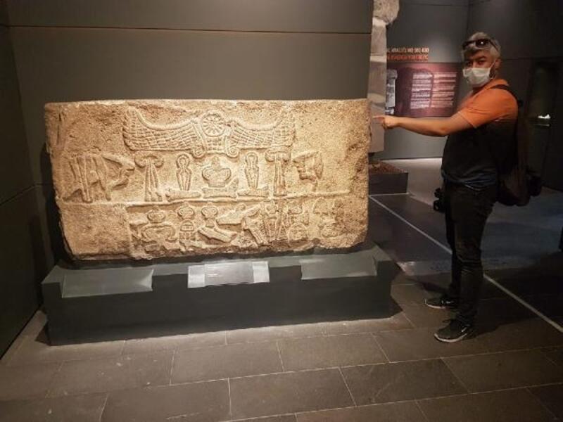 Hitit döneminin baraj kitabesi Kayseri'de sergileniyor