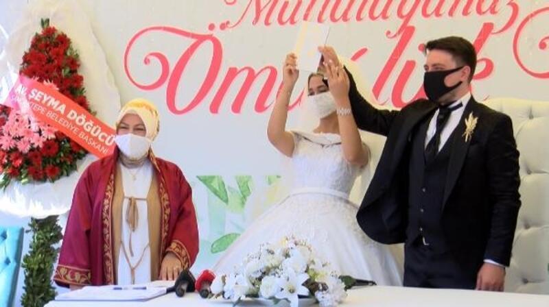 Sancaktepe'de üç alan açık hava düğünleri için yeniden düzenlendi
