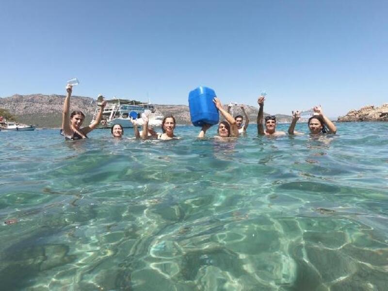 Rotaryenlerden farkındalık yaratan dalış