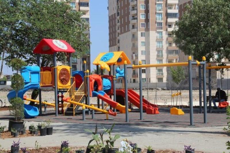 Yüreğir'de 10 mahalleye 10 yeni park