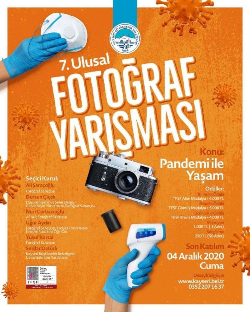 Büyükşehir Belediyesinden 'pandemi' konulu fotoğraf yarışması