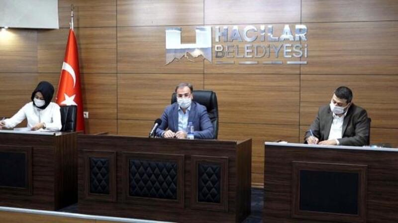 Hacılar Belediye Meclisi Eylül ayı toplantısı yapıldı