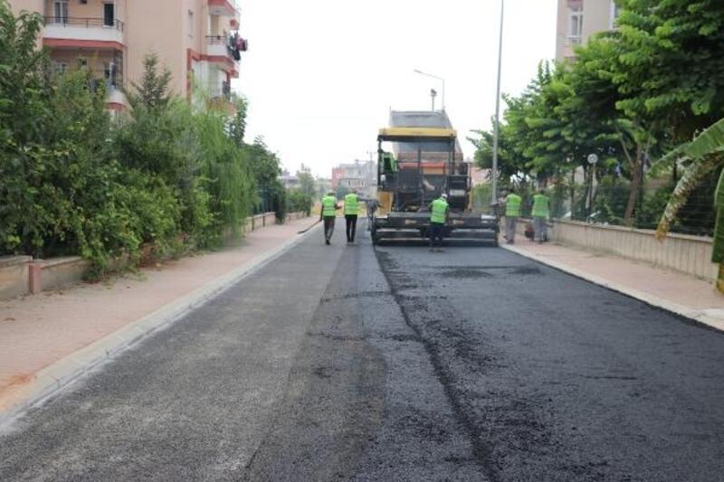Toroslar'a  240 bin ton asfalt