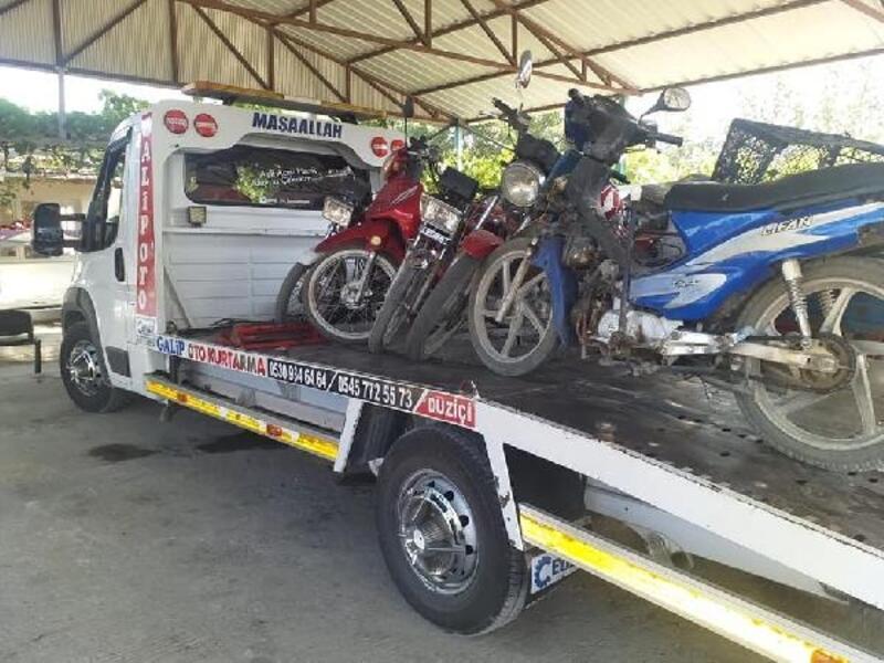 Düziçi'nde motosiklet denetimi