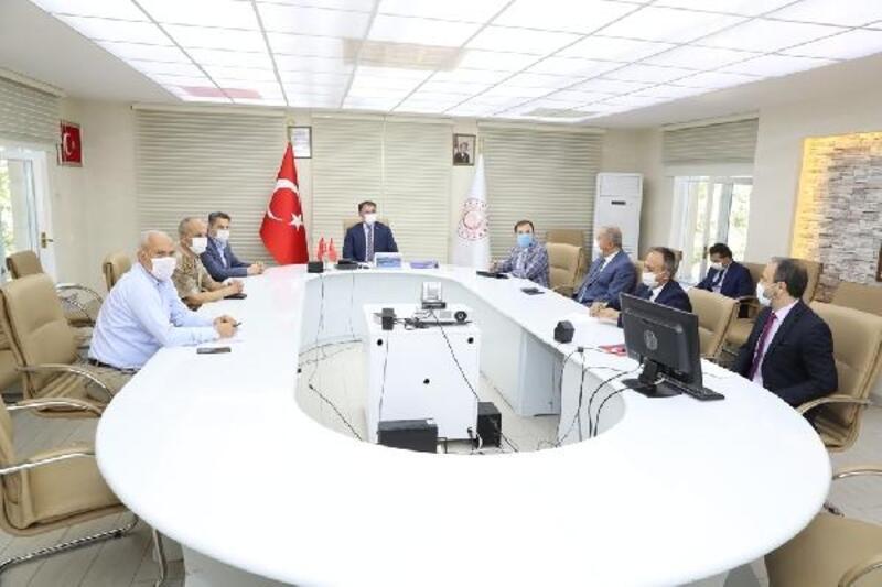 Tokat'ta İl Hıfzıssıhha Kurulu Toplantısı yapıldı