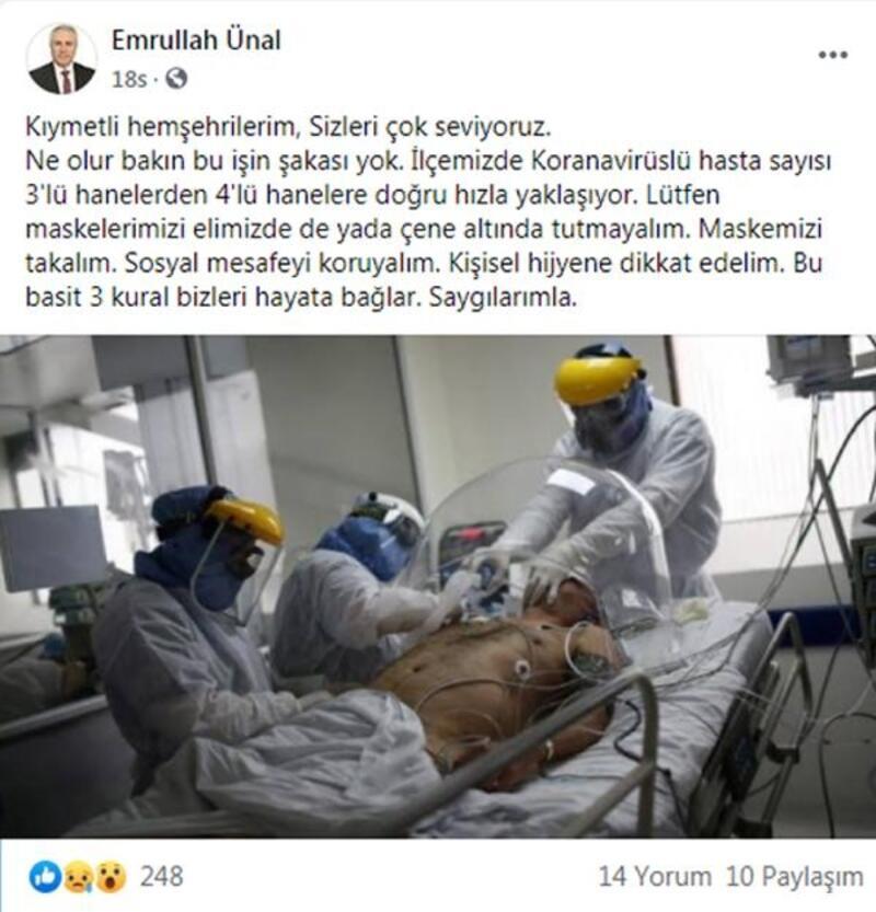 Bucak'ta koronavirüse karşı sokak anonsu