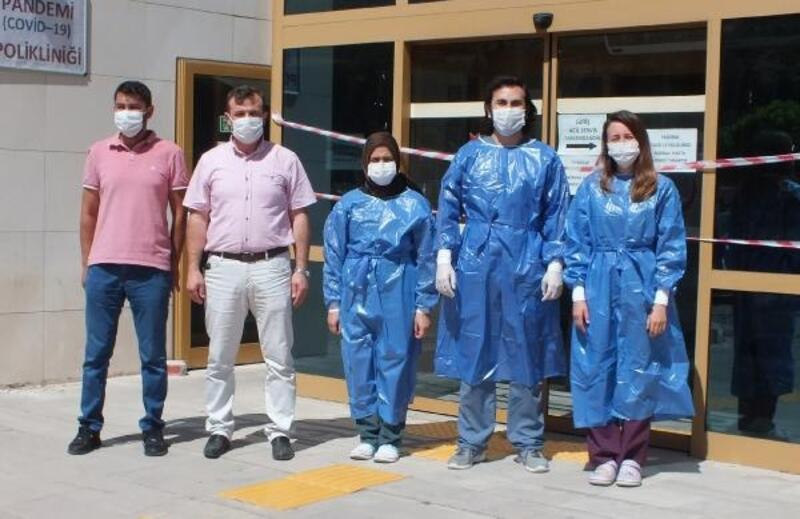 Çay Devlet Hastanesi'ne pandemi polikliniği