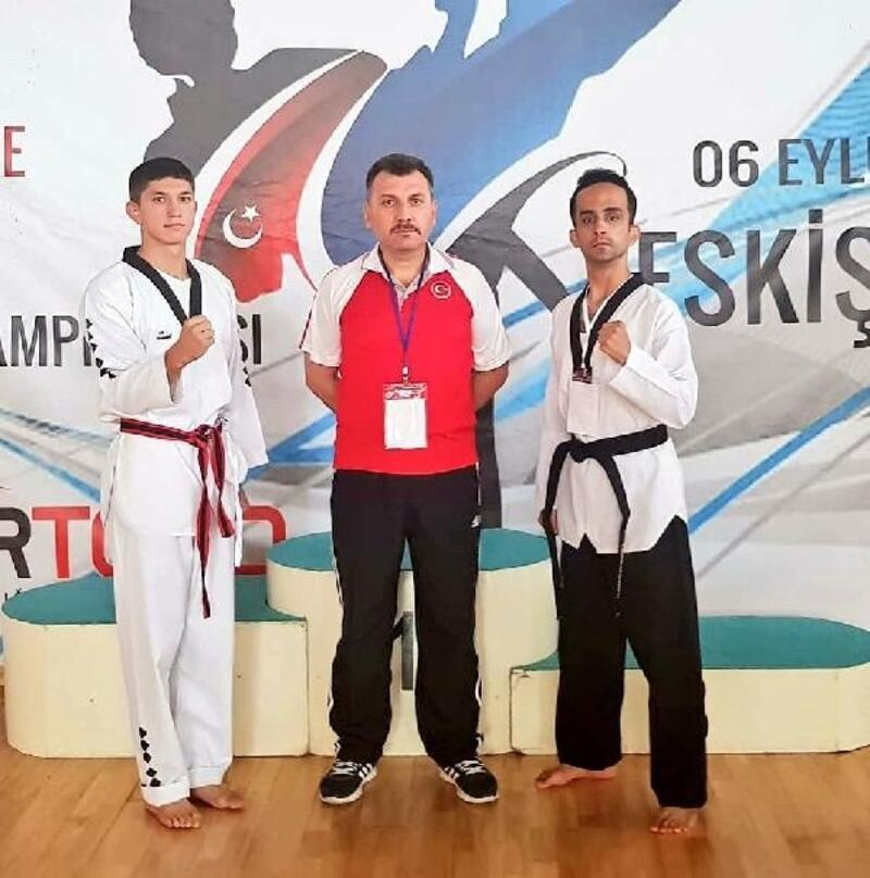 Özel sporculardan Taekwondo'da Türkiye derecesi