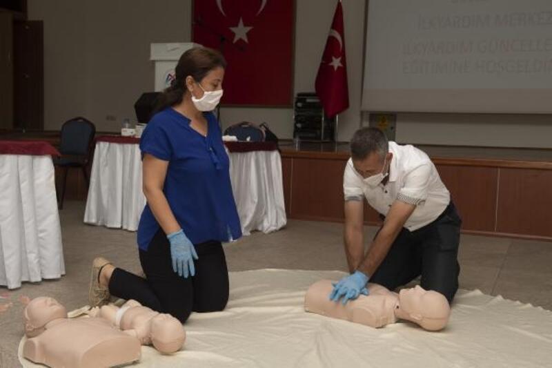 Mersin Büyükşehir 'İlk Yardım Merkezi' açıldı