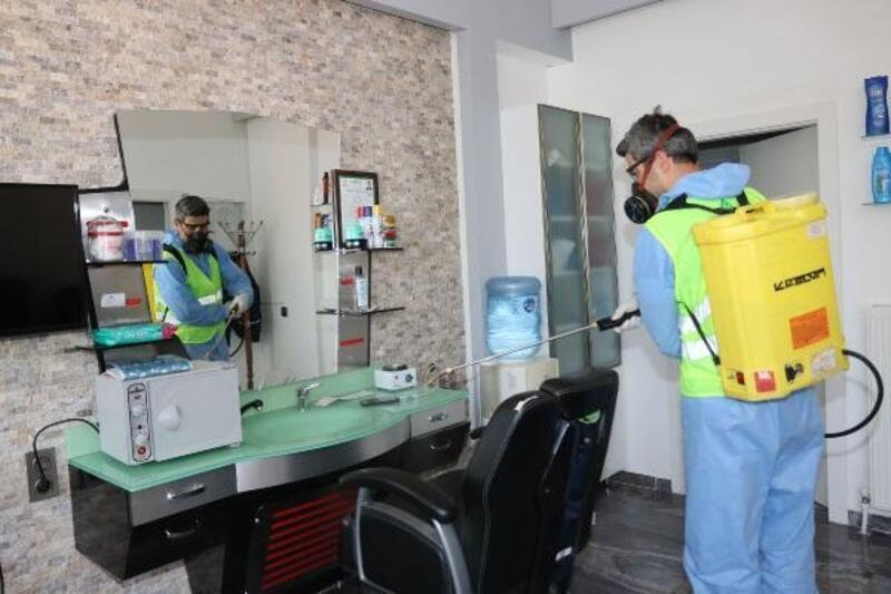 Çankaya'da 21 bin 908 noktada dezenfeksiyon çalışması yapıldı