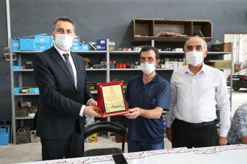 Başkan Eroğlu: Personelimizin her daim yanındayız