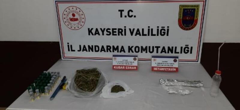 Kayseri'de iş yerine uyuşturucu operasyonu