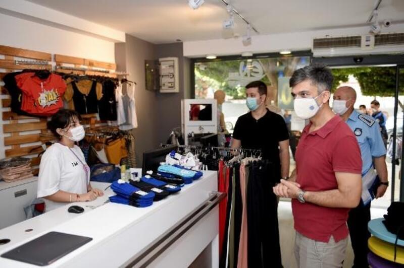 Seyhan Belediyesi ekiplerinden sıkı koronavirüs denetimi