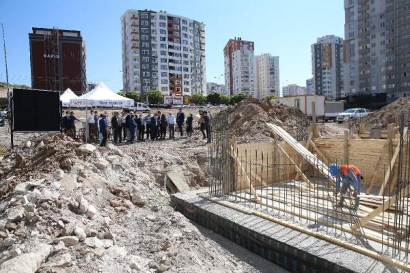Kayseri'de Osman-Nehire Akgöz Sağlık Ocağı'nın temeli atıldı