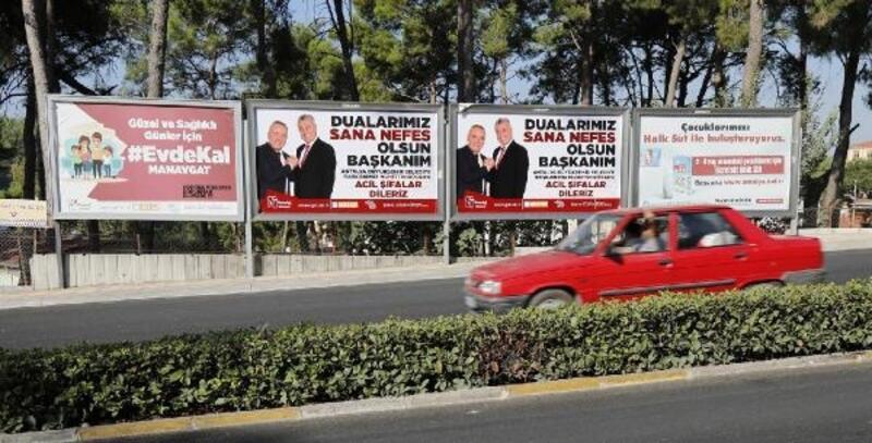 Manavgat'tan Başkan Böcek'e destek
