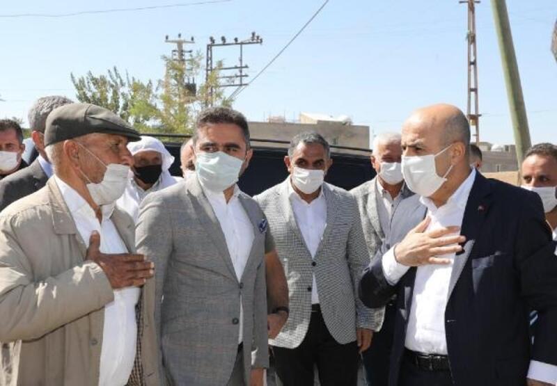 Vali Demirtaş'tan kırsal mahallelere ziyaret