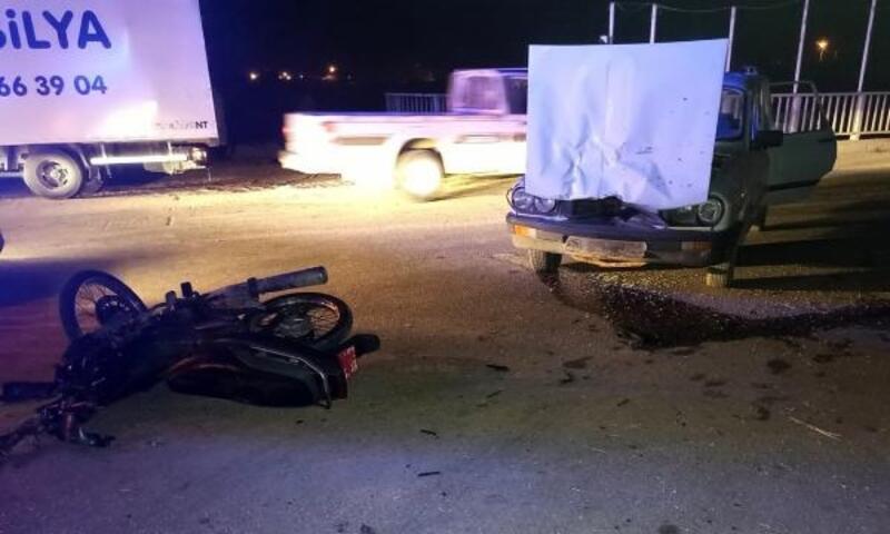 Demre'de kaza: 2 yaralı