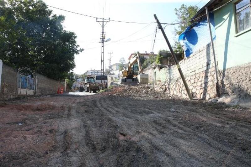 Tokat'ta, Uzunseki Caddesi yenileniyor