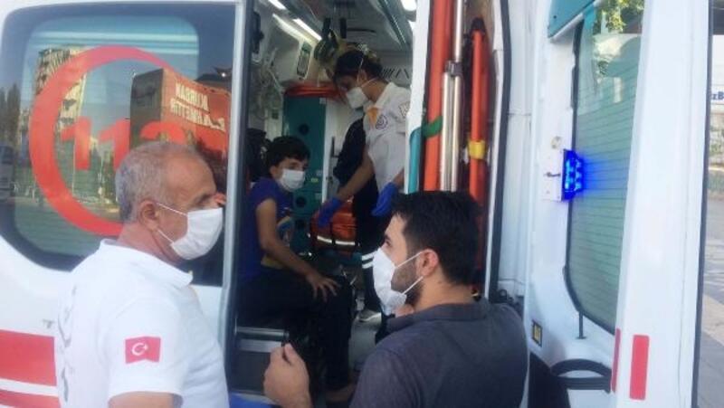 Adıyaman'da motosikletin çarpıp kaçtığı çocuk yaralandı