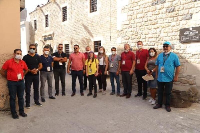 Turizmciler Kilis'i ziyaret etti