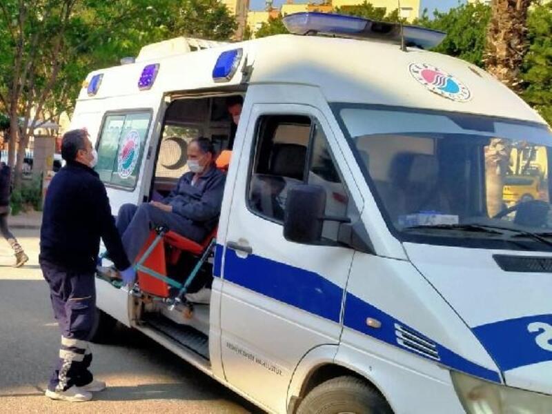 Kepez'in evde sağlık ekibi yüzleri güldürüyor