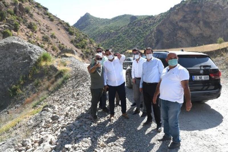 Çatak-Konalga Karayolun'a 6 köprü inşa ediliyor