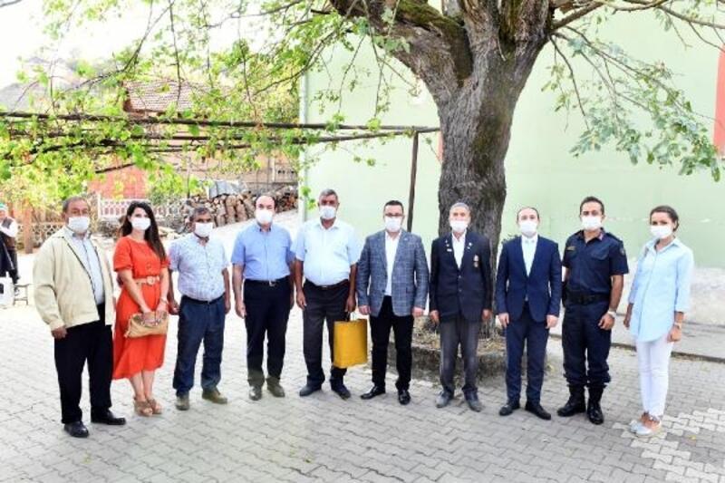 Mustafakemalpaşa'da Kıbrıs Gazisine vefa ziyareti
