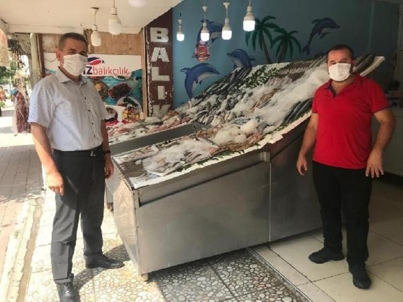 Ceyhan'da maske ve sosyal mesafe denetimi