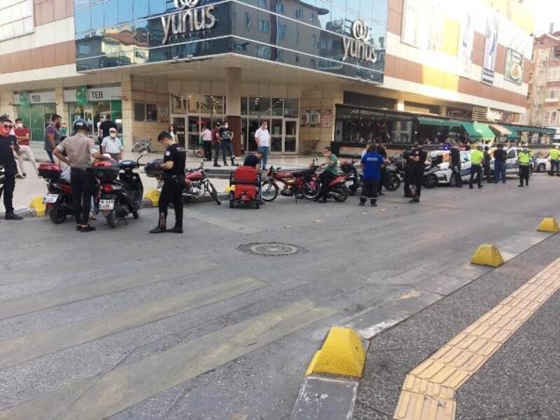 Çankırı'da 15 motosiklet sürücüsüne para cezası