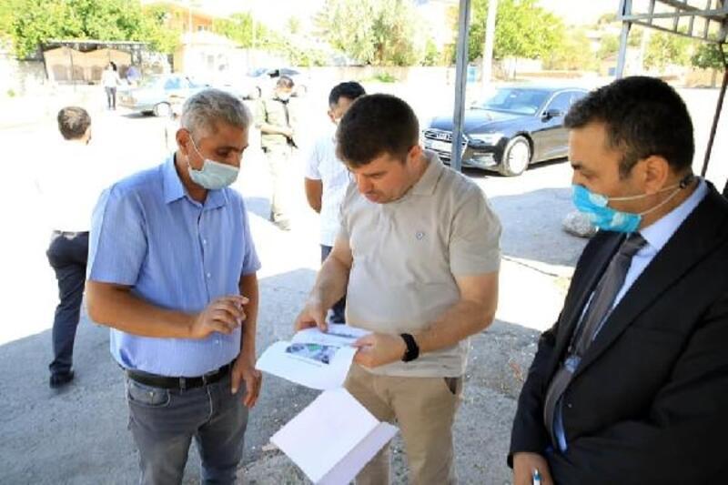Aksaray Belediye Başkanı, Kurtuluş Pazar alanını inceledi